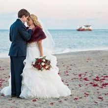 220x220 sq 1512148953 473f21e94f0a8257 1506353581478 beach wedding couple