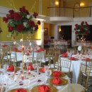 130x130 sq 1395704611849 grand ballroom with white and red table