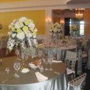 130x130 sq 1395885555664 grand ballroom tables with flowers and silk table