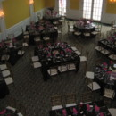 130x130 sq 1395886002685 grand ballroom with square tables with black and r