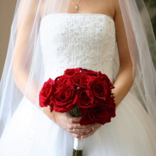 220x220 sq 1478708422862 bride holding red roses