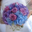 130x130 sq 1223205793548 bride%26bouquet.joe