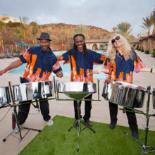 220x220 sq 1393091455634 steel drum trio 2014 smal