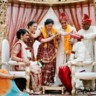 96x96 sq 1391188792290 indian wedding ceremony hindu bride groomjb