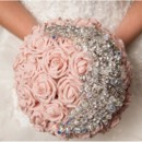 130x130 sq 1398988132745 blush pink bridal bouquet