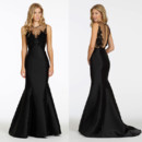 130x130 sq 1413924071968 noir by lazaro bridesmaid mikado trumpet gown swee