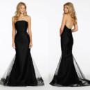 130x130 sq 1413924152362 noir by lazaro bridesmaid tulle trumpet gown strai
