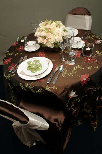 "photo 16 of ""Dress My Chair"" Party Rentals & Fine Linens"