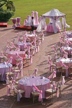 "photo 45 of ""Dress My Chair"" Party Rentals & Fine Linens"