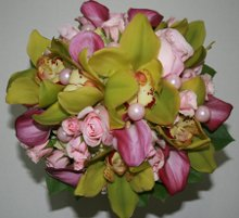 220x220 1309948730766 greencymbidiumpinkrosecallaflower