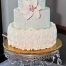 130x130 sq 1445557884786 mint green cake with stand
