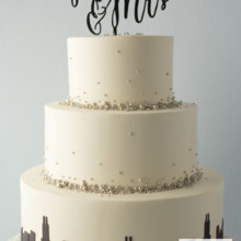 220x220 sq 1493825450575 weddingblack and silver skyline