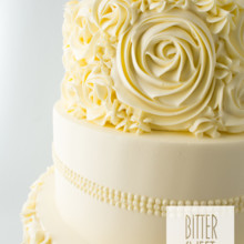 220x220 sq 1493825479383 weddingbuttercream rosettesdetail