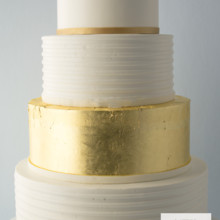 220x220 sq 1493825524907 weddingcombed buttercream and gold leaf