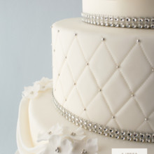 220x220 sq 1493825609509 weddingfondant and rhinestonesdetail