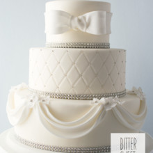 220x220 sq 1493825619685 weddingfondant and rhinestones