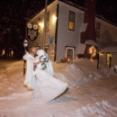130x130 sq 1490809133935 winter wedding kiss