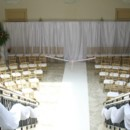 130x130 sq 1391268187858 silk draping with gold chair