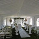 130x130 sq 1366024477383 20x40 with a liner white wedding chairs and columns
