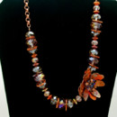 130x130 sq 1415123722502 copper petal flower necklace