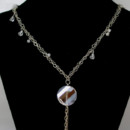 130x130 sq 1415193639448 sterling crystal and pearl chained necklace