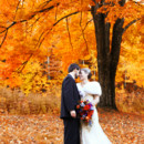 Fall Portrait of Bride and Groom