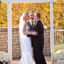 130x130 sq 1413485198185 ceremony patio   outdoor ceremony in the fall