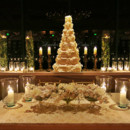 130x130 sq 1370032405733 claudia  francisco wedding cake