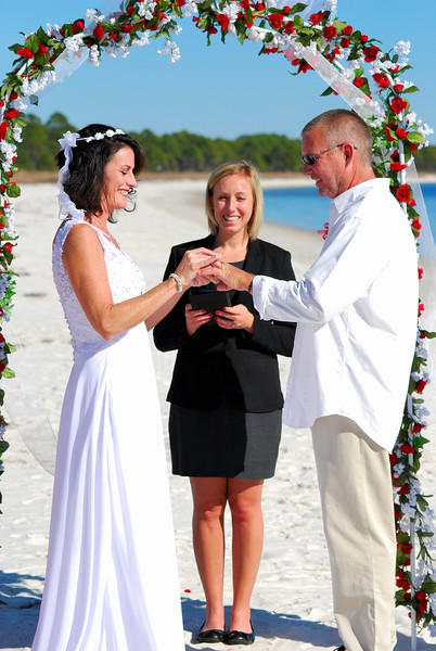 A Beautiful Wedding In Florida Officiant Amp Coordinator Services
