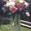 130x130 sq 1403555459112 pink tall centerpiece