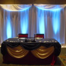 130x130 sq 1415573396398 pipe  draping bridal table wtopper