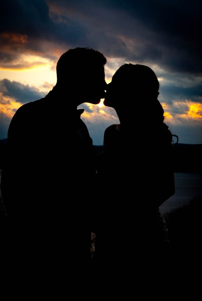 1378919168069 Jamie  Chris Sunset Silhouette Beacon wedding venue