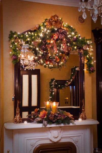 1378919924600 Holiday Shot Main Hall Lounge Mirror Beacon wedding venue