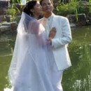 130x130 sq 1383586633365 groom and brid