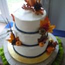 Melanie's Wedding Cake at Briar Patch Bed & Breakfast, 11/16/13