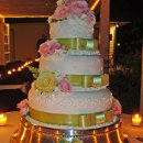 130x130_sq_1295302342803-weddingcakegreenribbonpinkflowers