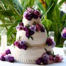 130x130_sq_1326143856060-weddingcakepurpleflowersround