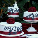 130x130_sq_1326143861548-weddingcakeredribbonroundblackdesign