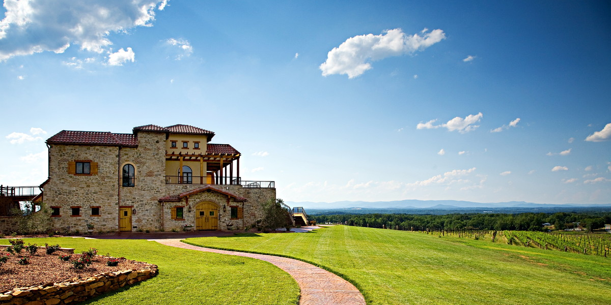 Raffaldini Vineyards Venue Ronda Nc Weddingwire