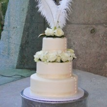 220x220 sq 1388448192202 weddincake flowe