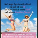 130x130 sq 1421709830608 friend rate referral discount poster