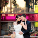 130x130 sq 1365891314282 bride and groom at hotel entrance