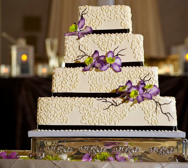 1358807516253 Chantillylacesugarorchids Danvers wedding cake