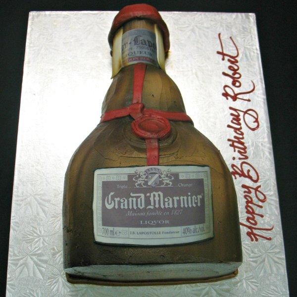 1358808852741 GrandMarnierbottlecakeasterisk Danvers wedding cake