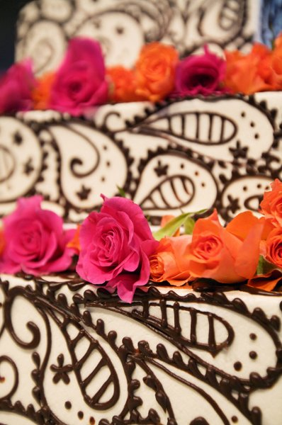 1358809432334 ChocolatePaisleycloseup Danvers wedding cake