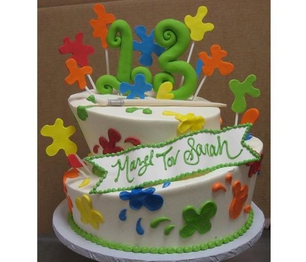 1372077853886 Mazel Tov 13 Danvers wedding cake