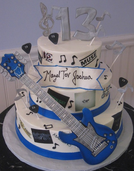 1372077856112 Musical Mitzvah Cake Danvers wedding cake
