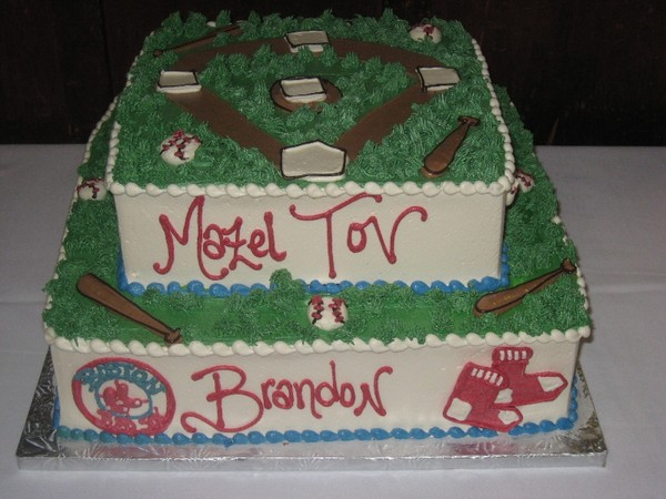 1372077862015 Redsoxbarmitzvah Danvers wedding cake