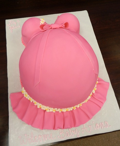 1372078243152 Belly Baby Shower Asterisk Danvers wedding cake