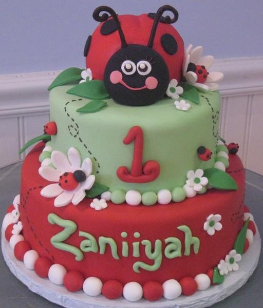 1372078439715 I 1st Ladybug Danvers wedding cake